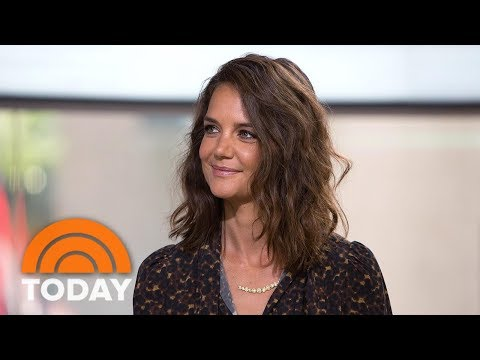 Katie Holmes Talks About 'Logan Lucky,' 'Ocean's Eight' and Suri at 11 | TODAY (видео)