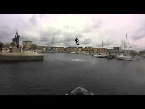 Flyboard Air sets world record for farthest hoverboard