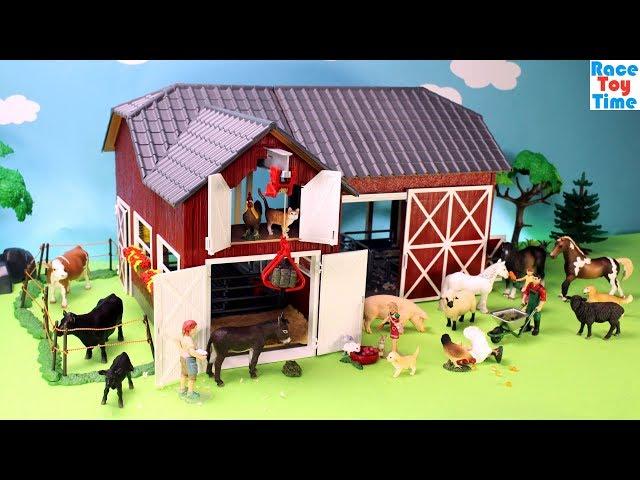 Schleich-farm-world-red-barn