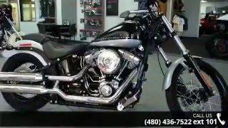 5. 2013 Harley-Davidson FXS - Softail Blackline  - Indian Mo...