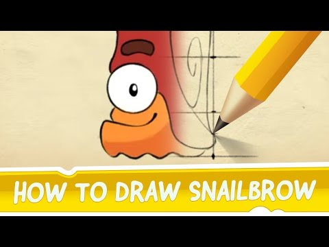 cut - He's swift, he's one-eyed and his glance is by all means irresistible! His name is Snailbrow, he's from Cut the Rope 2 and in this simple video we learn how to draw him! http://zep.tl/yt/ctr2.