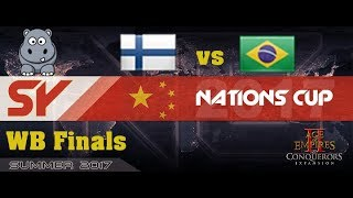 w ShiNe Sadly had some drops :( Age of Empires 2 Nations Cup for $30000+ Top two fly to China to play the offline Finals.