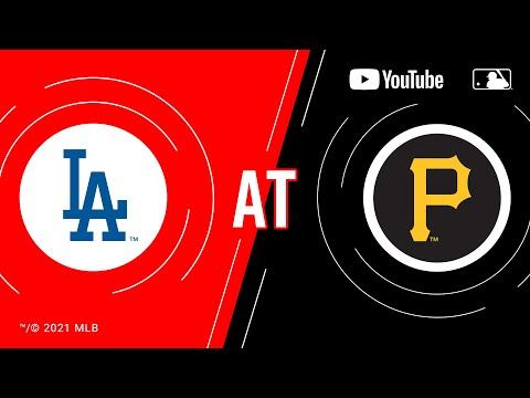 Dodgers at Pirates   MLB Game of the Week Live on YouTube