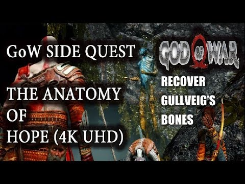 God Of War 4 2018 How To Recover Gullveigs Bones The Anatomy