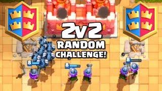 Video 2v2 RANDOM CHALLENGE! - Clash Royale (Indonesia) MP3, 3GP, MP4, WEBM, AVI, FLV Juni 2017