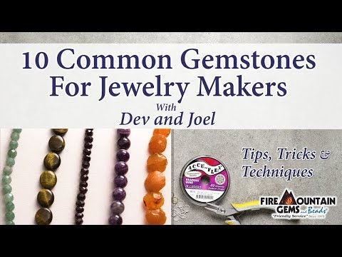 10 Common Gemstones For Jewelry Makers