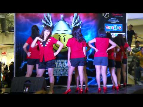 5th TAGCOM Philippines 2011. KPOP Event, SNSD Cover Genie (Video1)