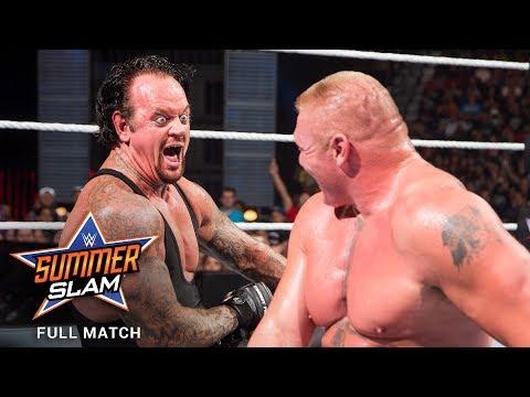 FULL MATCH - Brock Lesnar vs. The Undertaker: SummerSlam 2015