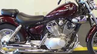 2. 2008 YAMAHA V STAR 250-LOW MILES-80 MPG-PRISTINE CONDITION