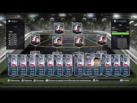 FIFA 15 MEJORES JUGADORES CHILENOS | REVIEW | LIGA CHILENA