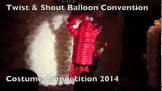 Twist and Shout 2014 Balloon Convention - Costume Competition