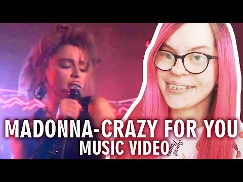MADONNA - CRAZY FOR YOU (MUSIC VIDEO REACTION) | Sisley Reacts
