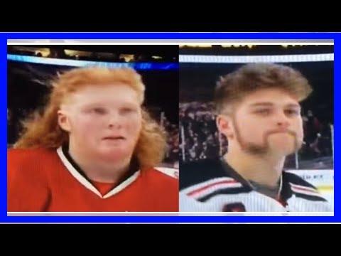 The 2018 Minnesota high school 'All Hockey Hair Team' has been unveiled with some amazing hockey sa (видео)