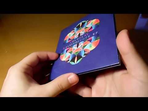 Coldplay - Kaleidoscope EP - Unboxing