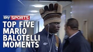 Video Top 5 Mario Balotelli Moments MP3, 3GP, MP4, WEBM, AVI, FLV Juli 2018