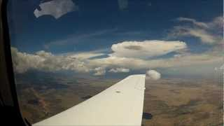 [HD] GoPro | Cirrus SR22T Perspective | IFR To Santa Fe, NM | Lightning!