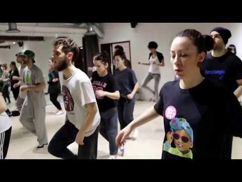 PARIS DANCE SCHOOL - Master Class BRIAN FOOTWORK GREEN -
