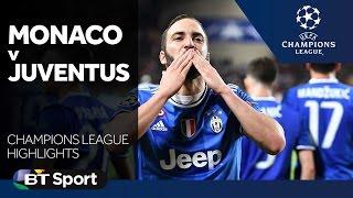 Monaco 0-2 Juventus   Champions League Highlights