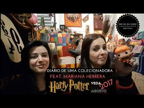 VEDA #13 - Vamos Falar De Harry Potter - Dicas da Sissi Feat Mariana Herrera