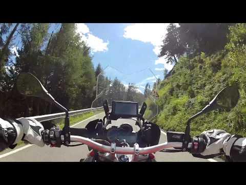 BMW R1200GS LC - Dynamik Modus Test - Penserjoch 2014