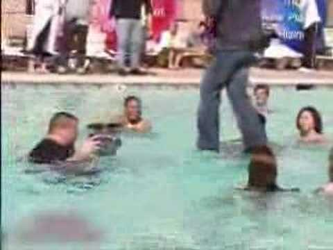 Criss - Criss Angel walks on water. NOT MY VIDEO. I found the video on a different website and uploaded it. A&E owns the material.