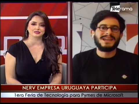 Nerv empresa Uruguaya participa 1era feria de tecnología para Pymes de Microsoft