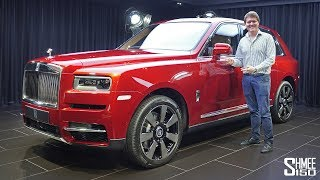 Check Out the New Rolls-Royce Cullinan SUV! | FIRST LOOK