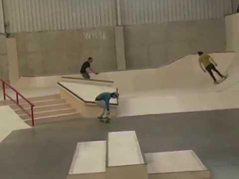 Wreckless Indoor Skatepark Promo
