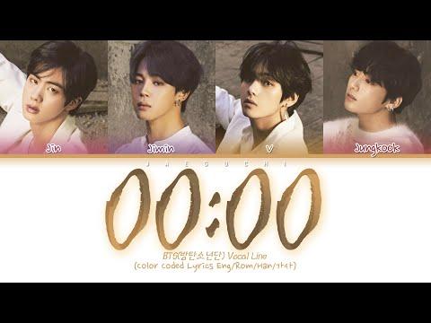 BTS (방탄소년단) - 00:00 (Zero O'Clock) (Color Coded Lyrics Eng/Rom/Han/가사)