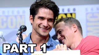 More Celebrity News ►► http://bit.ly/SubClevverNewsThe cast of MTV's hit show Teen Wolf took over Hall H at San Diego Comic Con 2017. Watch part 1 of the panel with Melissa Ponzio, Charlie Carver, Cody Christian, Shelley Hennig, Dylan O'Brien, Tyler Posey, Dylan Sprayberry, Khylin Rambo, Jeff Davis & Linden Ashby.For More Clevver Visit:There are 2 types of people: those who follow us on Facebook and those who are missing out http://facebook.com/clevverKeep up with us on Instagram: http://instagr.am/ClevverFollow us on Twitter: http://twitter.com/ClevverTVWebsite: http://www.clevver.com Add us to your circles on Google+: http://google.com/+ClevverNewsTweet Me: http://www.twitter.com/