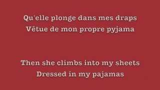 C'est chelou - Zaho / English and French lyrics Video