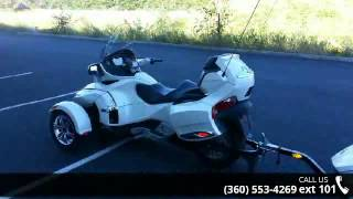 10. 2011 Can-Am Spyder Roadster RT-Limited  - Lifestyles Hond...