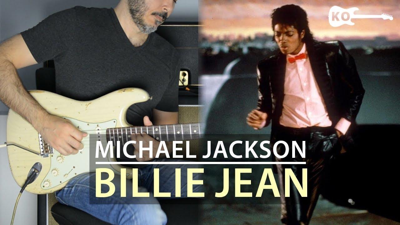 Michael Jackson – Billie Jean – Electric Guitar Cover by Kfir Ochaion