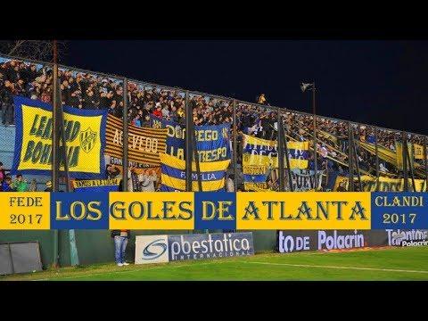 La hinchada de Atlanta En Sarandí - Atlanta 3-0 San Martin - La Banda de Villa Crespo - Atlanta