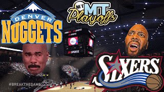 NBA 2K16 MyTEAM MT PLAYOFFS - GAME 1 VS CULLENBURGER | Nuggets @ Sixers Gameplay #MTPlayoffs