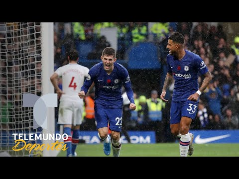 Christian Pulisic vs. Crystal Palace | Premier League | Telemundo Deportes
