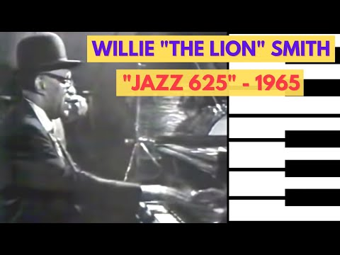 "Willie ""The Lion"" Smith – The Lion on BBC's ""Jazz 625"" – 1965 (full video)"