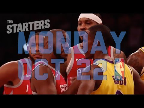 Video: NBA Daily Show: Oct. 22 - The Starters