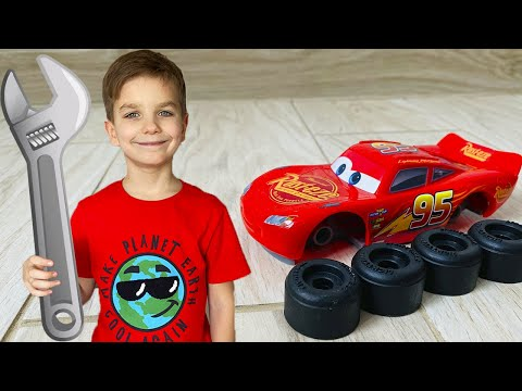 Mark and Stories for Kids About Lightning McQueen and Cars