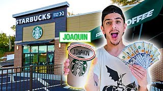 Video Giving Starbucks Employees $1,000 If They Spell My Name Right! MP3, 3GP, MP4, WEBM, AVI, FLV Juni 2019