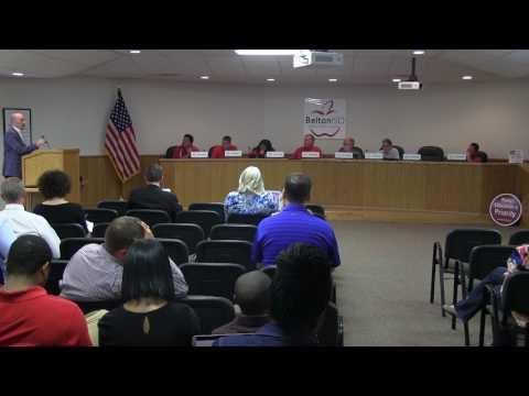 Belton ISD School Board Meeting 27 March 2017
