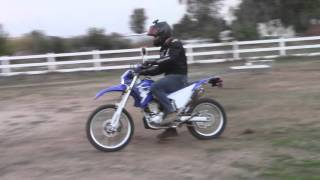 3. 2009 Yamaha WR250R FMF Pipe Test