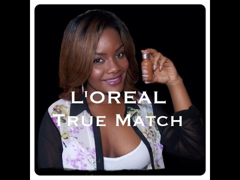 L´OREAL True Match COCOA-C8/Base De Maquillaje Para Piel Negra /Full-Face Makeup TUTORIAL