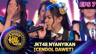Video KECE Abis! Sisca JKT48 Nyanyikan CENDOL DAWET [PAMER BOJO] - Kontes KDI Eps 7 (2/9) MP3, 3GP, MP4, WEBM, AVI, FLV September 2019