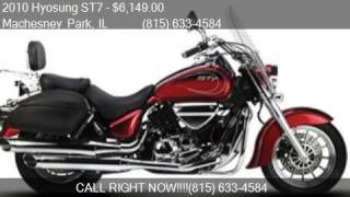 7. 2010 Hyosung ST7 FULL DRESS for sale in Machesney Park, IL 6