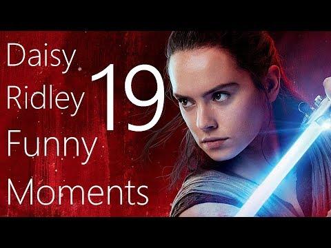 Daisy Ridley Funny Moments 19 (видео)