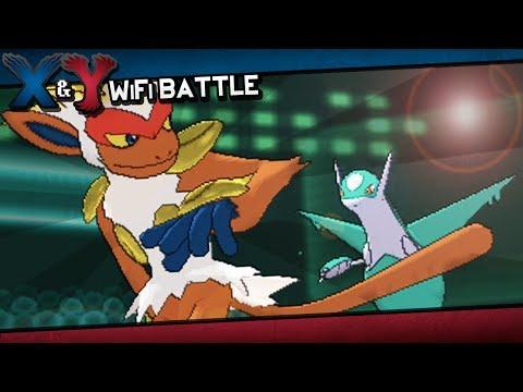 Pokémon X and Y WiFi Battle | VS Blizzard!