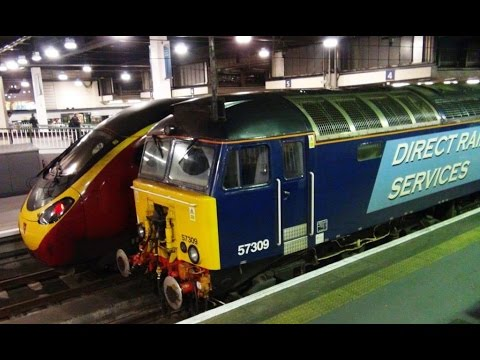 Oxenholme to London – West Coast Mainline - Pendolino Tilting Train.