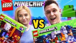 Video BITWA NA KLOCKI - BAZA VS TSUNAMI CREEPERÓW CHALLENGE! (Lego Minecraft) | Vito vs Bella MP3, 3GP, MP4, WEBM, AVI, FLV Desember 2018