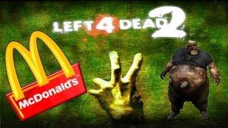 image of Left 4 Dead 2 En Macdonald´s !! Con RAFYTA18 !! PUTOS ZOMBIESSS !!!